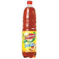 lipton ice tea liptonic p che 1 5l tous les produits boissons plates th s glac s prixing. Black Bedroom Furniture Sets. Home Design Ideas