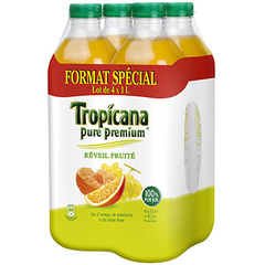 Jus de fruits Tropicana Reveil fruite 4x1l