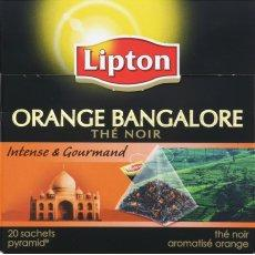 Orange Bangalore - The noir - 20 sachets Intense et gourmand