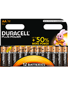Duracell Plus Power AA x12