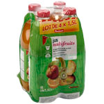Auchan jus multifruits a base de concentre 4x1,5l
