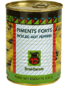 Piments forts casher