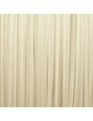 BiYa Hair Elements Thermatt Extensions de cheveux à clipser Couleur 60 Blond platine 45 cm 70 g