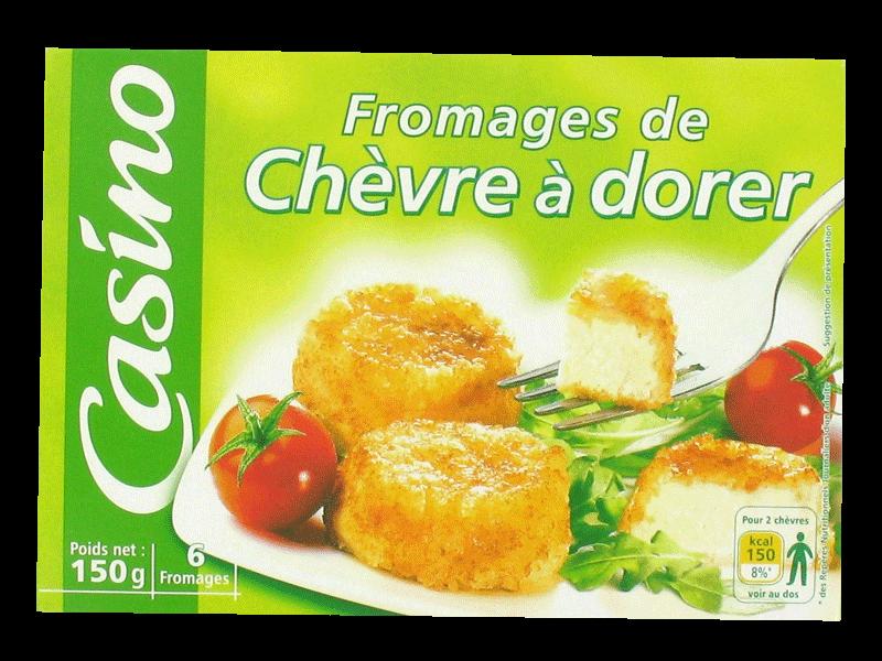 Fromages de chevre a dorer x6 tous les produits ch vres brebis prixing - Carbonate de sodium danger ...