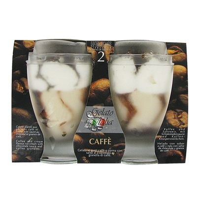 Gelato d'Italia coupes glacees cafe 2 X 180mL