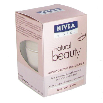 soin nivea natural beauty hydratant 50ml tous les produits soins visage prixing. Black Bedroom Furniture Sets. Home Design Ideas