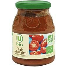 Chair de tomates U BIO, 400g