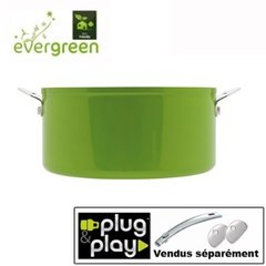 Casserole evergreen plug and play sans manche