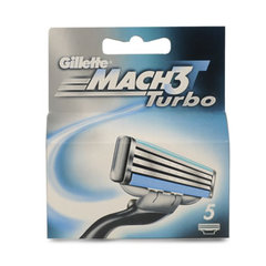 Gillette lames Match 3 Turbo x5