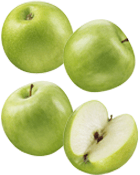 Pomme Granny Smith Bio Cal 65-70 mm Cat 2