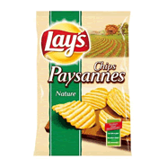 LAY'S : Chips paysannes Nature