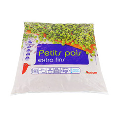 petits pois extra fin auchan 1kg