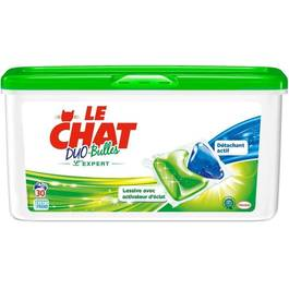 Lessive Le Chat Duo bulle expert x30