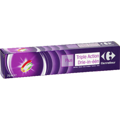 Dentifrice Triple Action