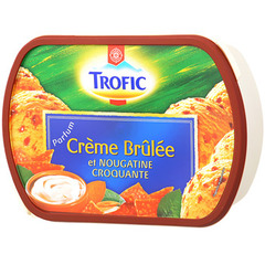Glace Vanille Trofic Creme Brulee 900ml