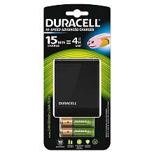 Duracell Chargeur Piles Rechargeables Rapide 45 minutes