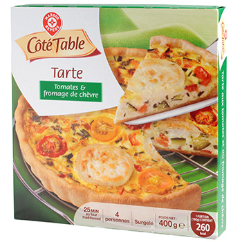 Tarte au chevre Cote Table 400g