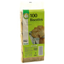 Pouce biscottes x100 -750g