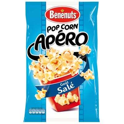 Pop corn apero sale BENENUTS, 45g