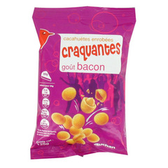 Cacahuetes enrobees craquantes gout bacon 1 x 125g