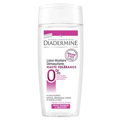 Lotion micellaire haute tolerance DIADERMINE, 200ml