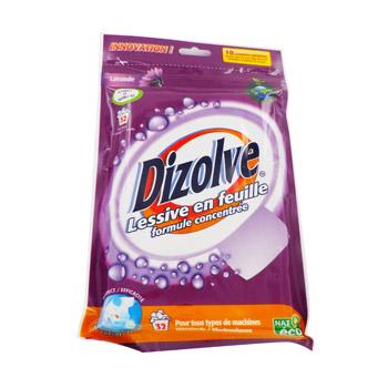 dizolve lessive en feuille lavande lavage x32 tous les produits pastilles tablettes. Black Bedroom Furniture Sets. Home Design Ideas