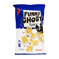 snacks funny ghost sale auchan 80g