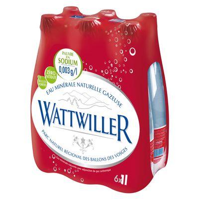 eau minerale naturelle fortement petillante wattwiller 6x1l tous les produits eaux gazeuses. Black Bedroom Furniture Sets. Home Design Ideas