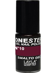 Layla Cosmetics Milano Vernis à Ongles One Step Gel Red In Brown 5 ml