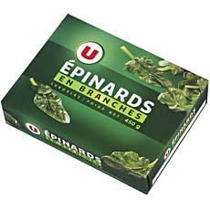 Epinards en branches U, 450g