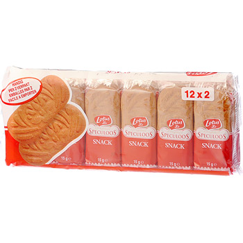 Speculoos biscuits au sucre candi 12 x 2 biscuits tous les produits biscuits g teaux - Carbonate de sodium danger ...