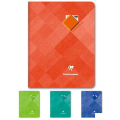 Cahier piqure FORCE 8, 17x22cm, seyes, 90g, 140 pages