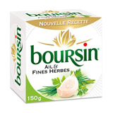 boursin ail&fines herbes 150g