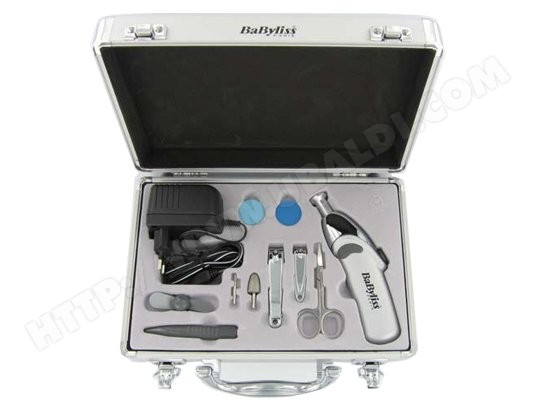 Babyliss - 8480E - set manucure - pedicure - coffret