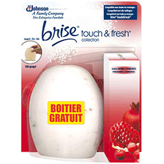 Brise touch&fresh collection grenade cranberries boitier gratuit
