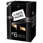 Carte Noire Collection Café Long-Intensité N°6 Authentique 10 Capsules de 56 g - Lot de 4