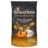 Walkers Sensations Californian Honey & Salt Peanuts (145g)