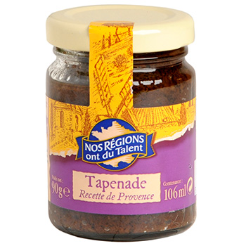 Tapenade provencale Nos regions ont du talent 90g