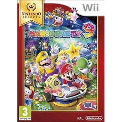 JEU NINTENDO WII SELECT MARIO PARTY 9
