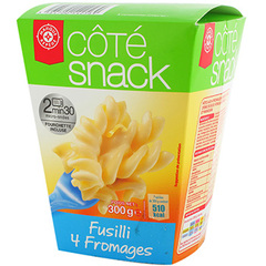 Fusilli Cote Snack 4 fromages 300g