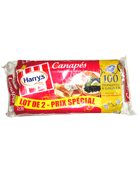 HARRYS LOT 2 TOASTS CANAPES 560G
