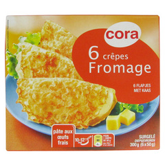 Crepes fromage (6 pieces)