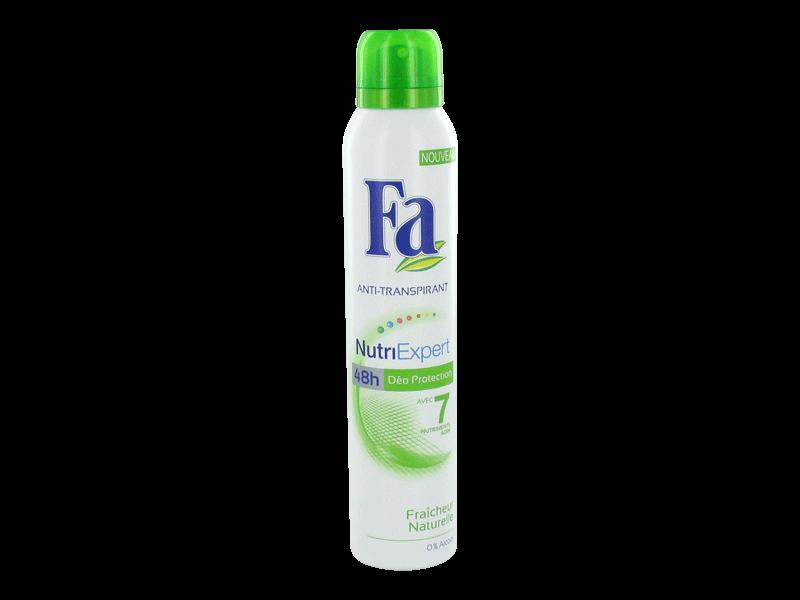 fa deodorant femme nutri expert fraicheur naturelle 200ml tous les produits d odorants femme. Black Bedroom Furniture Sets. Home Design Ideas