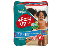 Couches Pampers Easy Up T6 x18
