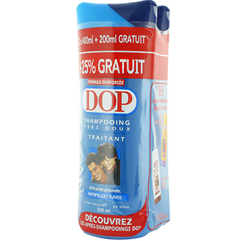 Dop shampooing Antipelliculaire lot de 2X(400ml )