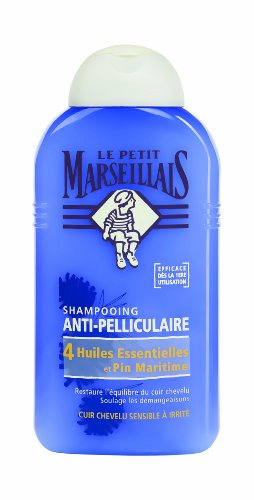 Shampooing antipelliculaire 4 huiles essentielles & pin