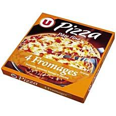 Pizza aux 4 fromages U, 350g