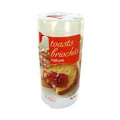 Toasts brioches Nature1 x 125g