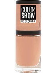 Gemey Maybelline Colorshow - Vernis à ongles -1 GO BARE - Nude Taupe