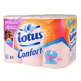 Papier toilette rose Lotus Confort village enfants x12
